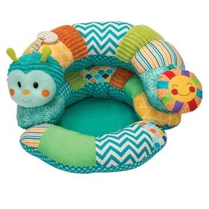Infantino Prop A Pillar Caterpillar Boppy Pillow